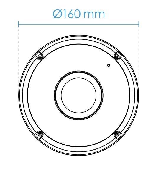 VIVOTEK FE9391-EV rozměry