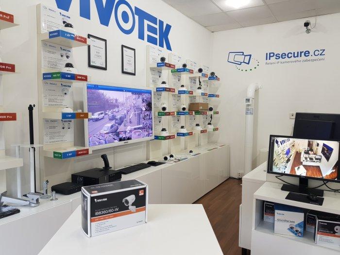 Venkovní IP kamera VIVOTEK IB8360-W balení