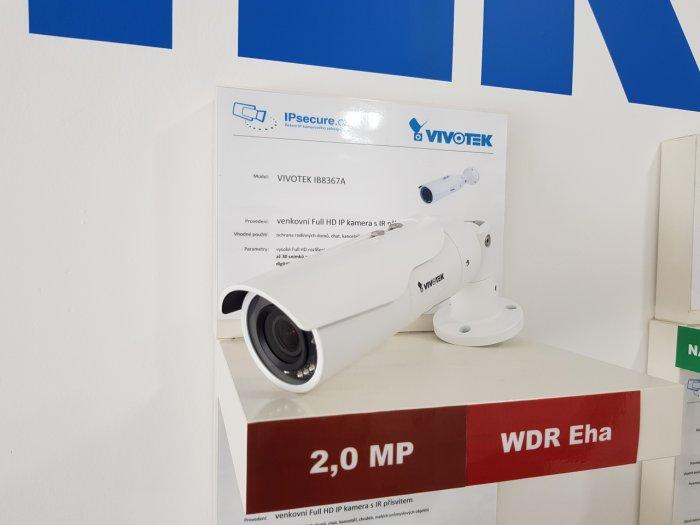 Venkovní IP kamera VIVOTEK IB8367A na prodejně