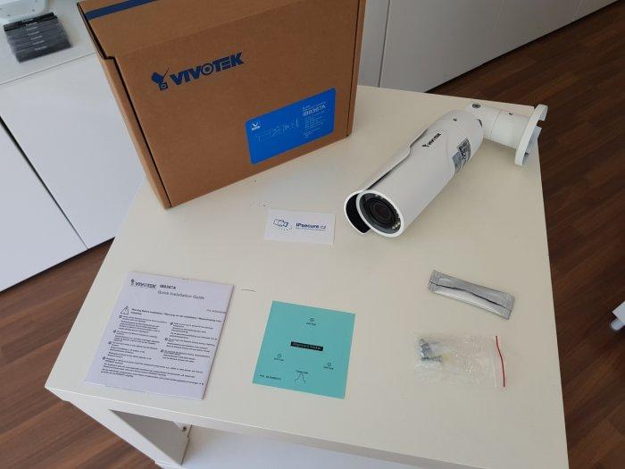 Venkovní IP kamera VIVOTEK IB8367A balení