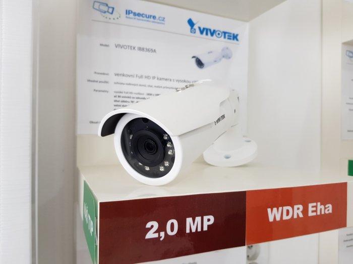 Venkovní IP kamera VIVOTEK IB8369A na prodejně