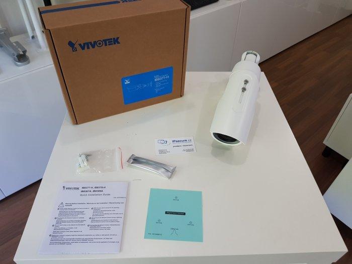 Venkovní IP kamera VIVOTEK IB8377-H balení