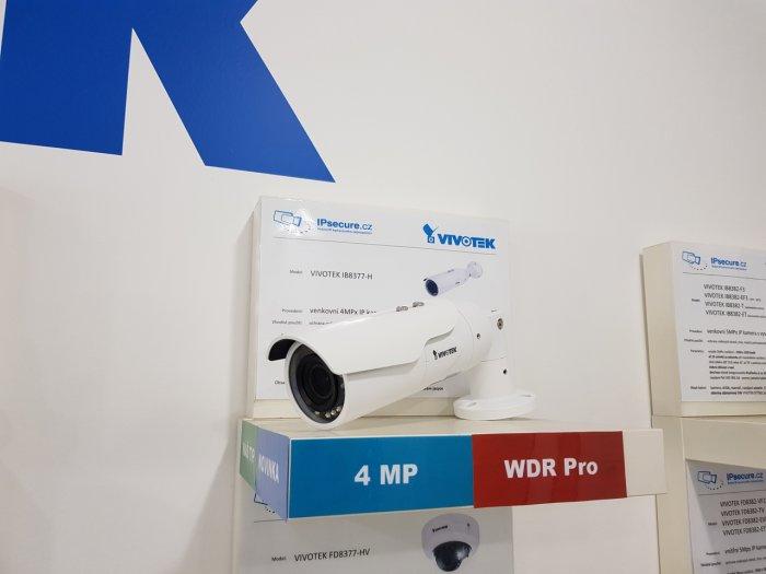 Venkovní IP kamera VIVOTEK IB8377-H na prodejně