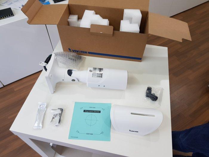 Venkovní IP kamera VIVOTEK IB8377-HT balení