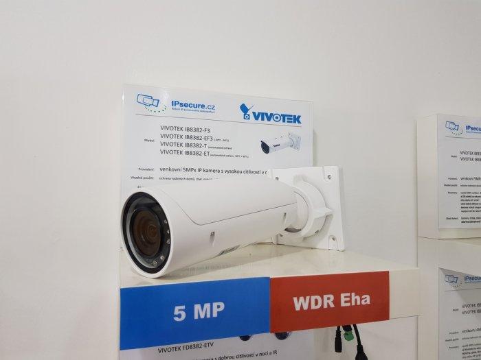 Venkovní IP kamera VIVOTEK IB8382-ET na prodejně