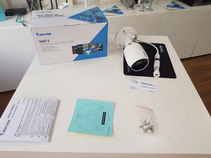 Venkovní IP kamera VIVOTEK IB9360-H obsah balení