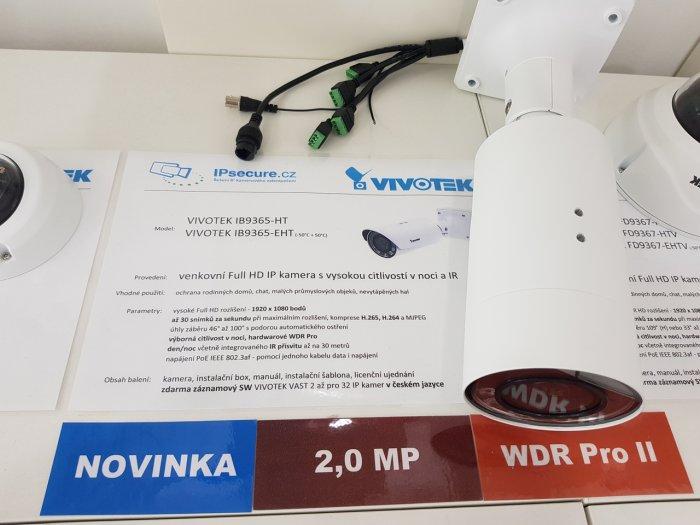 Venkovní IP kamera VIVOTEK IB9365-HT na prodejně