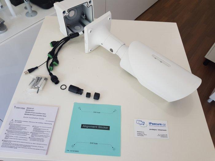 Venkovní IP kamera VIVOTEK IB9365-HT balení