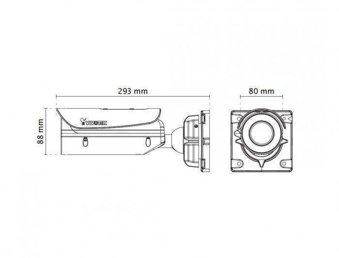 VIVOTEK IB9371-EHT rozměry
