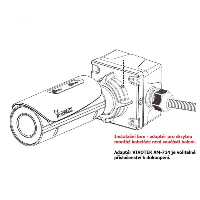 VIVOTEK IB9371-EHT s adaptérem AM-714 nebo BR-715