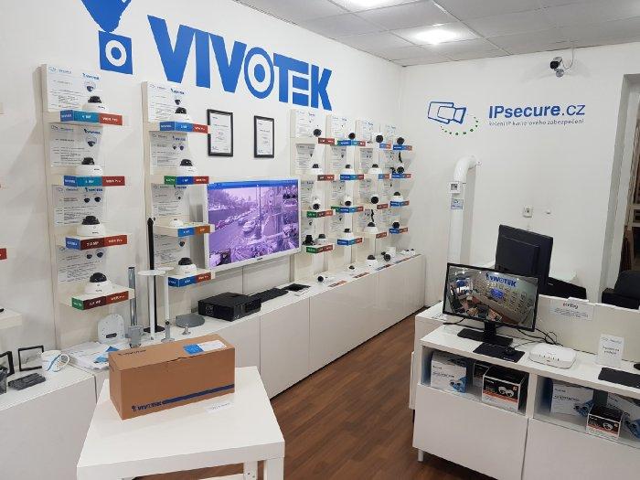 Venkovní IP kamera VIVOTEK IB9387-H na prodejně