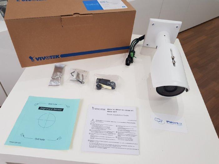 Venkovní IP kamera VIVOTEK IB9387-H obsah balení