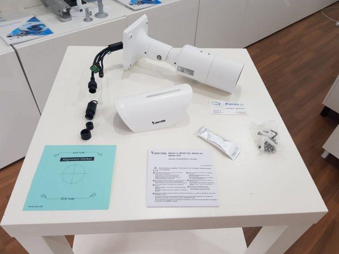 Venkovní IP kamera VIVOTEK IB9387-HT obsah balení