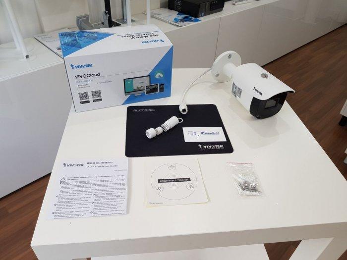 Venkovní IP kamera VIVOTEK IB9388-HT obsah balení