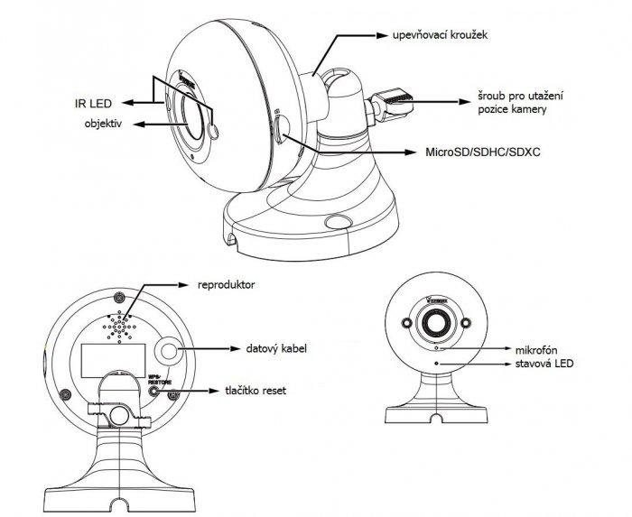 Vnitřní IP kamera VIVOTEK IP8160 popis