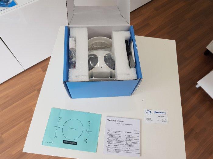 Venkovní IP kamera VIVOTEK MS9390-HV obsah balení
