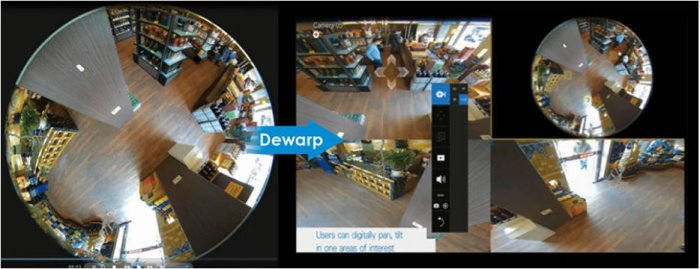 Záznamové zařízení VIVOTEK ND9312 podpora Dewarp