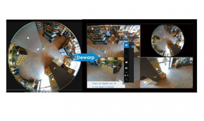 Záznamové zařízení NVR VIVOTEK ND9424P Dewarp 360° kamer