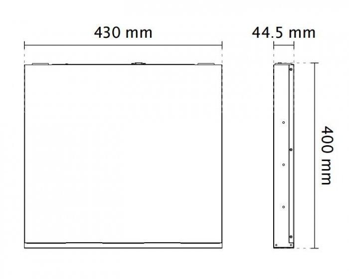 VIVOTEK ND9541 rozměry