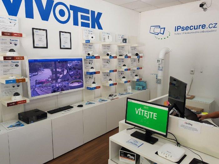 VIVOTEK počítání vstupů - vítejte showroom VIVOTEK