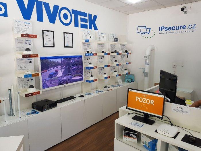 VIVOTEK počítání vstupů - pozor showroom VIVOTEK