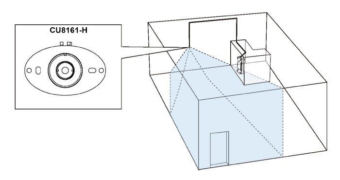 VIVOTEK VC8101-M1 ukázka instalace