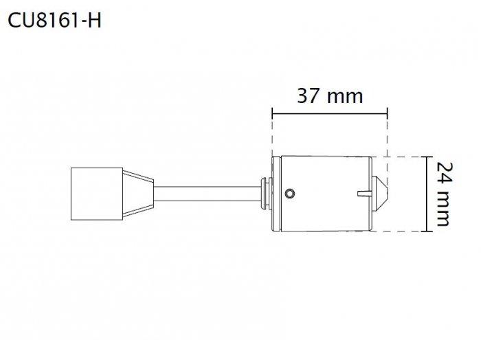 VIVOTEK CU8161-H rozměry