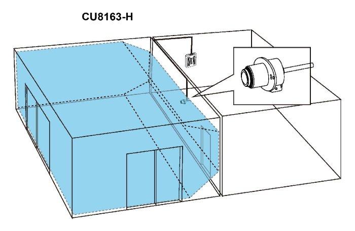 VIVOTEK VC8101-M3 ukázka zapojení
