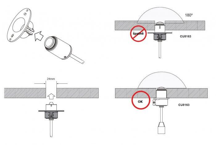 VIVOTEK VC8101-M3 ukázka instalace modulu