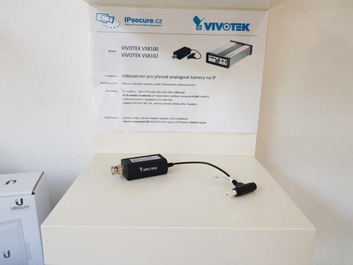 Převodní analogu na IP VIVOTEK VS8100 na prodejně
