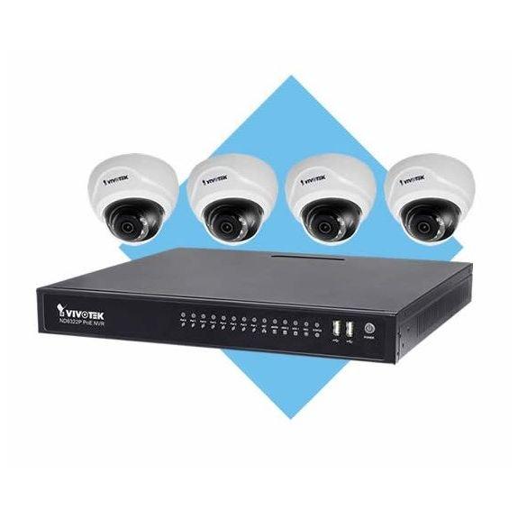 Vnitřní IP kamerový systém VIVOTEK ND8322P a FD8169