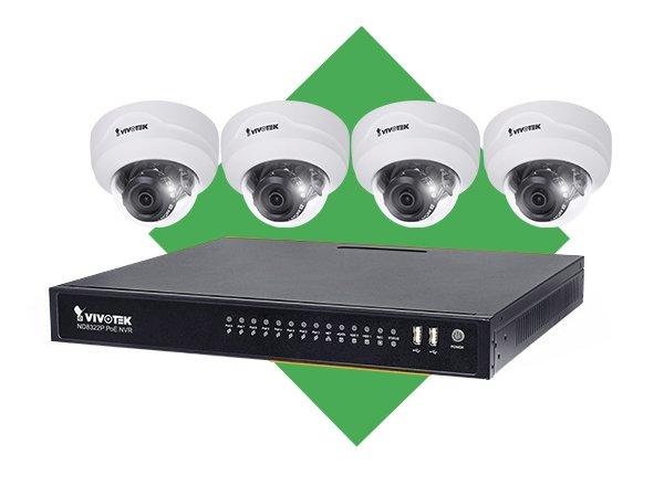 Vnitřní IP kamerový systém VIVOTEK 4x FD8179-H